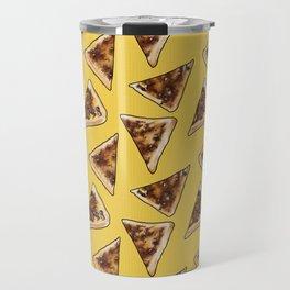 Vegemite on Toast Dreams in yellow Travel Mug