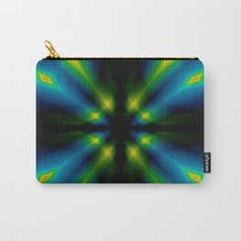 Tunnel Wisps Abstract Carry-All Pouch