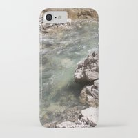 allyson johnson iPhone & iPod Cases featuring Johnson Canyon rocks by RMK Photography