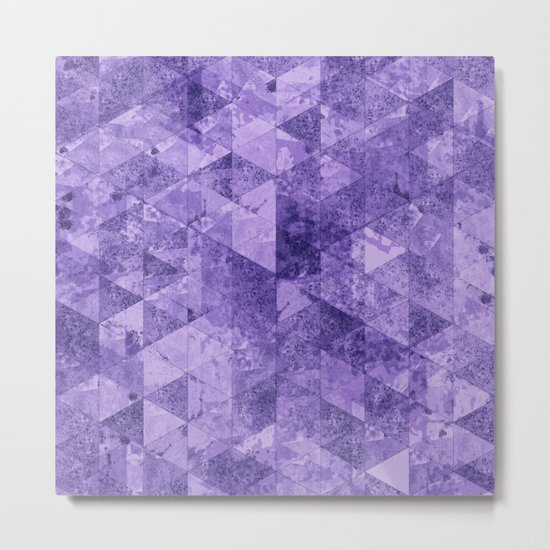 Abstract Geometric Background #17 Metal Print