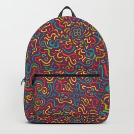 Happy Colourfulful Curles Backpack
