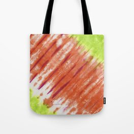 Pleated and Laced Tote Bag