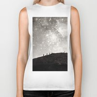 starry night Biker Tanks featuring Starry Night  by Laura Ruth