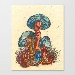 Mushrooms 1 Canvas Print