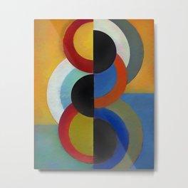Circles 4 Metal Print