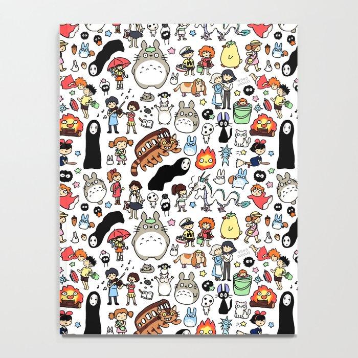 Kawaii Ghibli Doodle Notebook