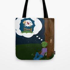 The Dead Do Dream Tote Bag