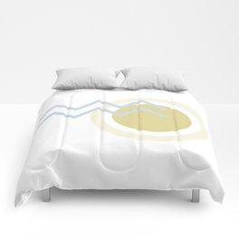 Abstract Sun Stream Comforters
