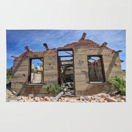 Abandoned Building - Nine Mile Canyon - Price - Utah Rug