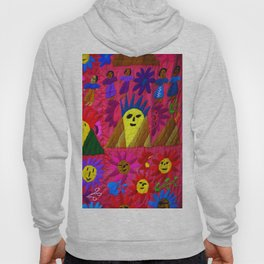 mexican textile Hoody