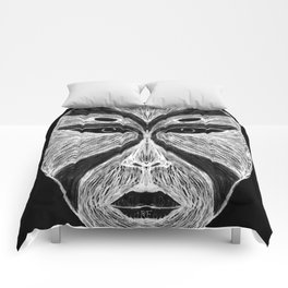 Witch's Mask Comforters