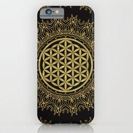 Flower Of Life Mandala iPhone Case