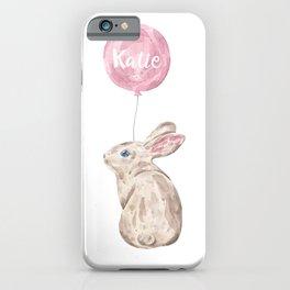 Katie Rabbit iPhone Case