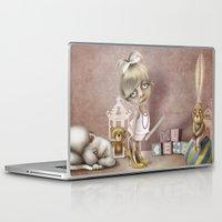 teacher Laptop & iPad Skins featuring The teacher by daltrOnde