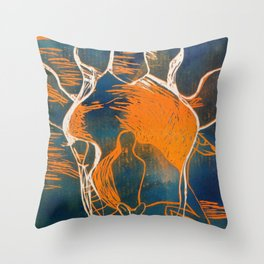 Thoughts About Jungle Throw Pillow