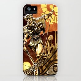 Ray Harryhausen Presents: Jason and the Argonauts- Kingdom of Hades by Mike Grell iPhone Case