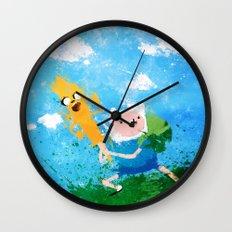 Battle Bros! Wall Clock