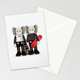Kaws poster Stationery Cards