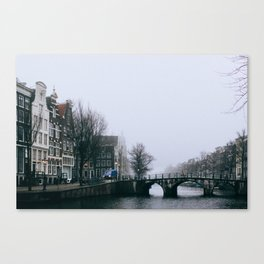 Grachtengordel - Amsterdam, The Netherlands - #12 Canvas Print