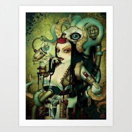 Steampunked Art Print