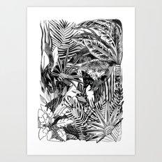 Fronds + Foliage Art Print