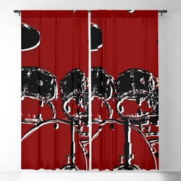 RED SET Blackout Curtain