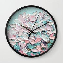 Yoshino Bouquet Wall Clock