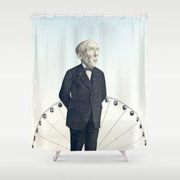 #Elemental Shower Curtain