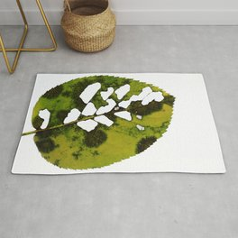 The Imperfect Leaf Rug