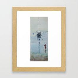 Morning at Sea Framed Art Print