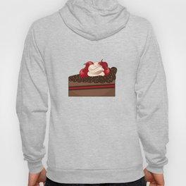 Cherry cake slice Hoody