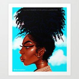 PUFF 2018 Art Print