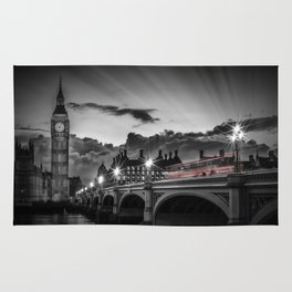 LONDON Westminster Bridge at Sunset | Colorkey Rug