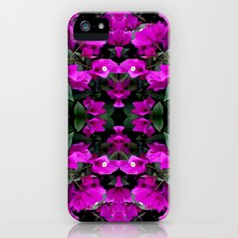 AWESOME AMETHYST PURPLE BOUGAINVILLEA VINES iPhone Case