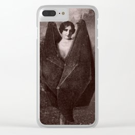 Dark Victorian Portrait: The Venus Clear iPhone Case