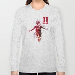 SALAH -11 red Long Sleeve T-shirt