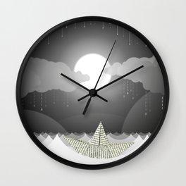 Dream Sea Wall Clock