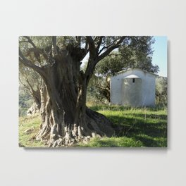 Large and Small Metal Print