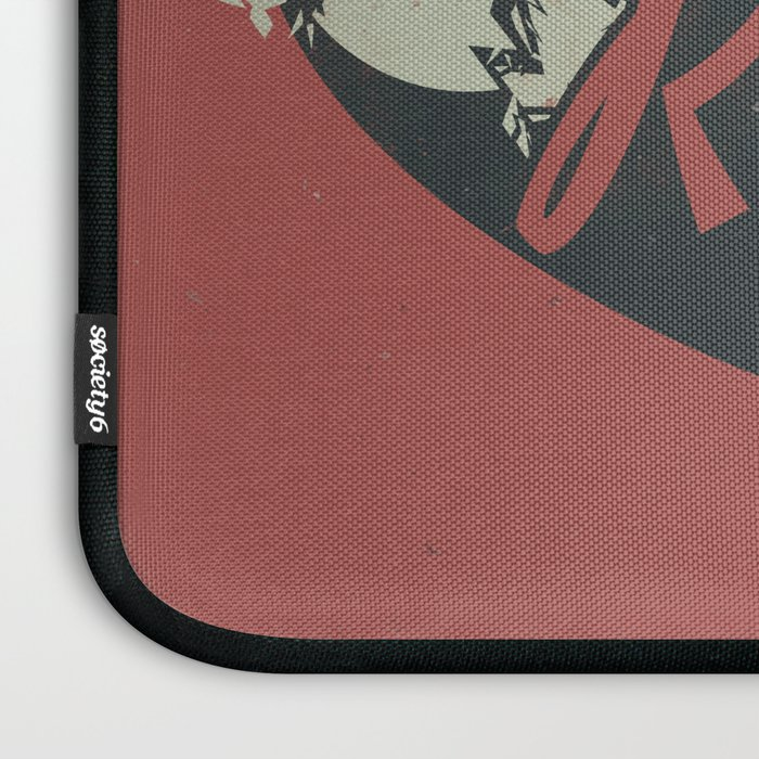 Red Rocket (Distressed) Laptop Sleeve