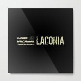 Black Flag: Laconia Metal Print