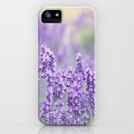 Rural lavender iPhone Case