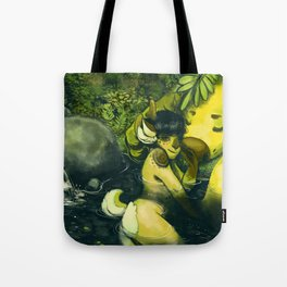 Water forest Tote Bag