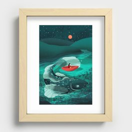 When You Read A Book Recessed Framed Print
