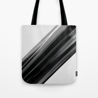 the strokes Tote Bags featuring Strokes by TheSmallCollective