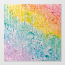Rainbow Abstract #1 Canvas Print