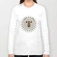 narnia Long Sleeve T-shirts featuring The Lion, the Witch and the Wardrobe by Rowan Stocks-Moore