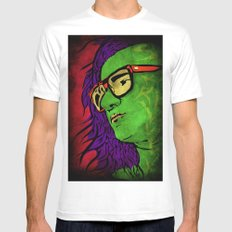 Skrillex White MEDIUM Mens Fitted Tee