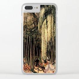 "Kay Nielsen Fairytale Illustration ""12 Dancing Princesses"" Clear iPhone Case"