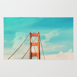 Retro Golden Gate - San Francisco, California Rug