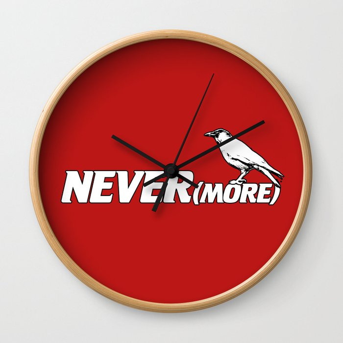 NEVER(more) Wall Clock